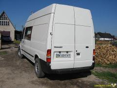 Rear screen on Ford transit of T16