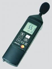 Testo 815 audio-noise meter.