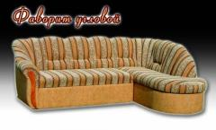 """Upholstered furniture """"The angular favourite"""