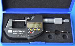 Micrometers are digital
