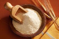 La farine de blé (emballage de sac p / p 50 kg, 45