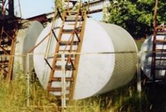 Металлические резервуары для нефти и нефтепродуктов до 50 м.куб