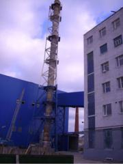 Металлоконструкции дымовых труб