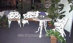 Мебели за вили