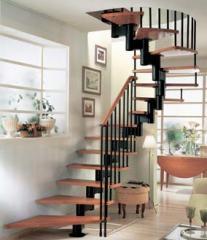 Лестницы кованые, лестницы под заказ