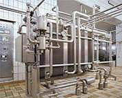 Pasteurizer water