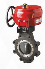 Electric drives for pipeline Bray fittings