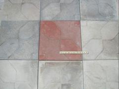 Плитка тротуарная Конфета, размеры 300х300х30 мм