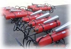 Fire extinguishers carbon dioxide mobile are