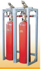 Модули автоматического газового пожаротушения