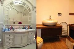 Мебель для ванных комнат, Мебель для ванных комнат