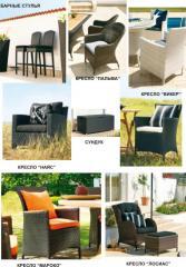 Мебель для баров Мебель из ротанга для улицы и