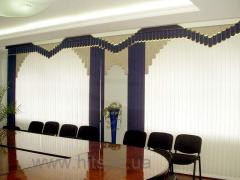 Multiimpressive vertical blinds from fabric and