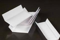 Microcorrugated cardboard