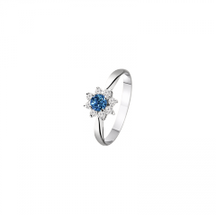 Ring female with sapphire, the Article: To 1410,