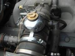 """Комплект """"Parus"""" для легковых авто до 5 литров с наружной обработкой воздуха с экономическим эффектом до 20%."""