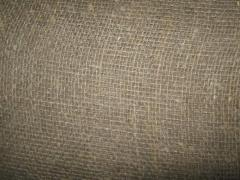Sacking jute and linen with a density of 200, 250,