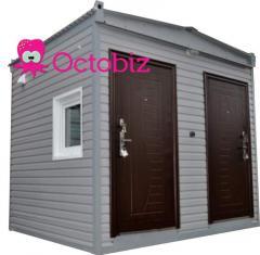 Modular street toilets