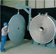 Heat exchangers are spiral