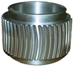 Feedwells, rollers for pressov-granulators of