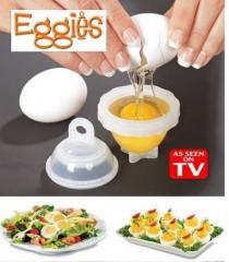 Формочки для варки яиц без скорлупы набор Eggies