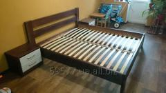 The furniture is house. Double bed, MODERNIST