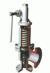 Safety valves locking PZK