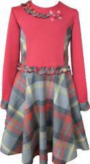 Нарядное платье для девочки. Модель 204