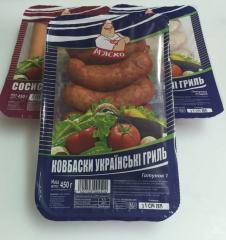 Колбаски украинские гриль (450 г)