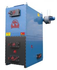 Heatgenerator of tverdopalivniya