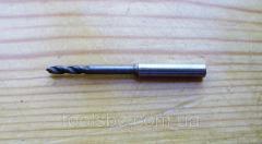 Drills hard-alloy monolithic f 4,0