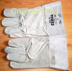 Gloves of the welder (gaiter)