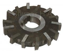 Mill disk 3-sided 125 x 16 x 32 kosozuby, P6M5