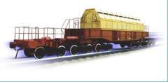 Транспортер железнодорожный ТК-13 модель 14-9037