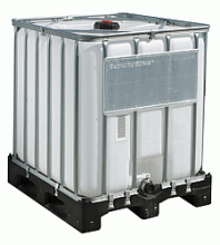 Eurocubes of 600 and 1000 l