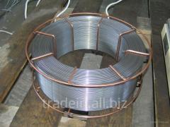 Wire steel welding Sv-08G2S on cartridges of 15 kg