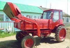 Тракторы Т-16 (с погрузчиком)