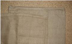 Мешок джутовый коричневый