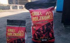 Бумажные мешки для угля на 10 кг. евростандарт