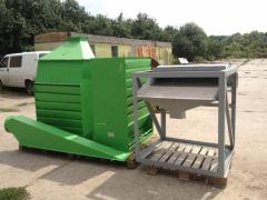 The cooler sorting of granules, is intended for