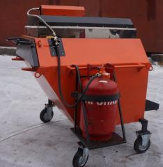 RECYCLER FOR REGENERATION ASPHALT RA-500