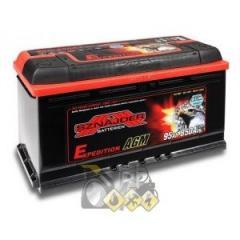 The SZNAJDER 95A accumulator Ev (-/+) AGM