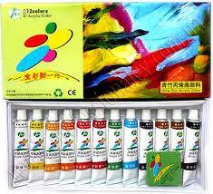 Краски художественные профессиональные