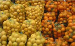 Сетка для упаковки моркови