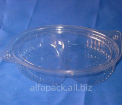 Packaging plastic ALPHA PAK PS-480 transparen