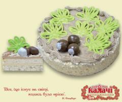 Воздушно-ореховый торт Київські каштани от