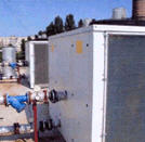 The water-cooling installations (chiller),