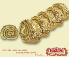 Confectionery roll Grilyazhny from the producer