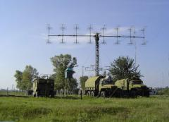 Radar stations (RLS) of investigation of the air and ballistic targets P-18 of MM