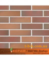 Кирпич облицовочный Керамейя КлинКЕРАМ Магма диабаз М350